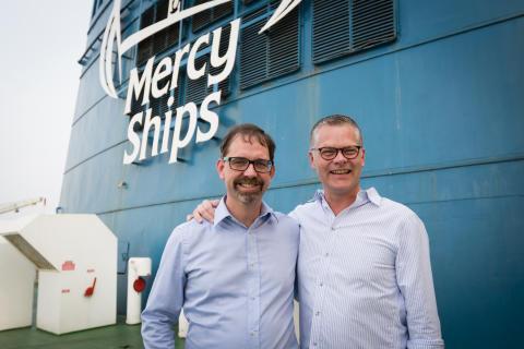Stena Line und Mercy Ships starten langfristige Partnerschaft
