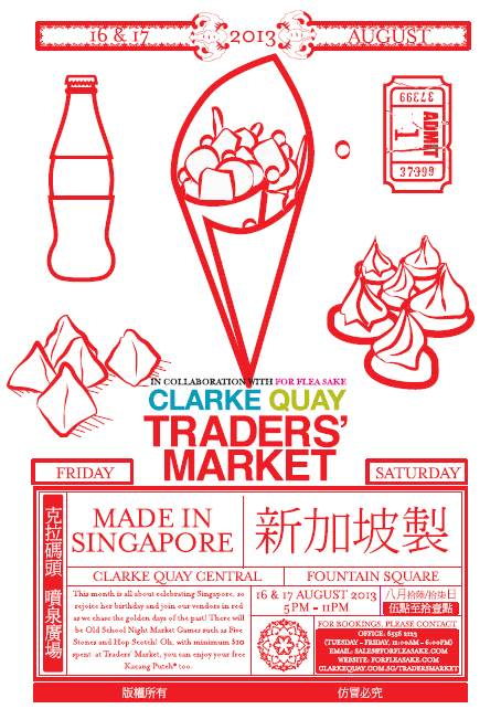 Clarke Quay Traders' Market - AUGUST Edition