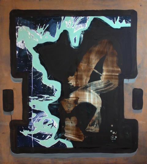 Isaeus-Berlin.Casual Illusion.125x125cm