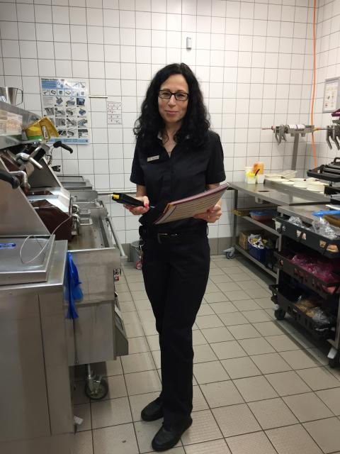 Heike Rudert - 2018 als Restaurantleiterin bei McDonald's