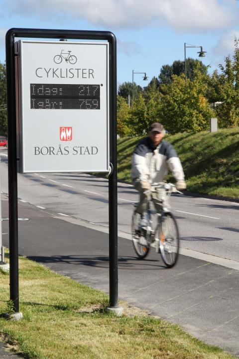 Cykelbarometrar ger nyttig information