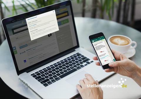 Neuer Service bei stellenanzeigen.de: kostenlos passende Stellenangebote per WhatsApp