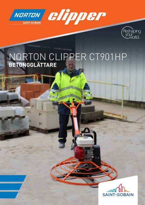 Norton Clipper CT901HP - Broschyr