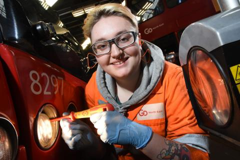 Six new recruits including first female engineering apprentice in 20 years appointed to award-winning team