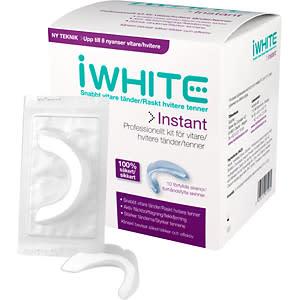 Få vitare tänder snabbt och säkert med nya iWhite Instant