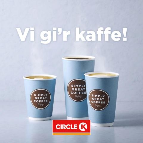 Circle K tilbyder gratis te og kaffe til Danmarks helte