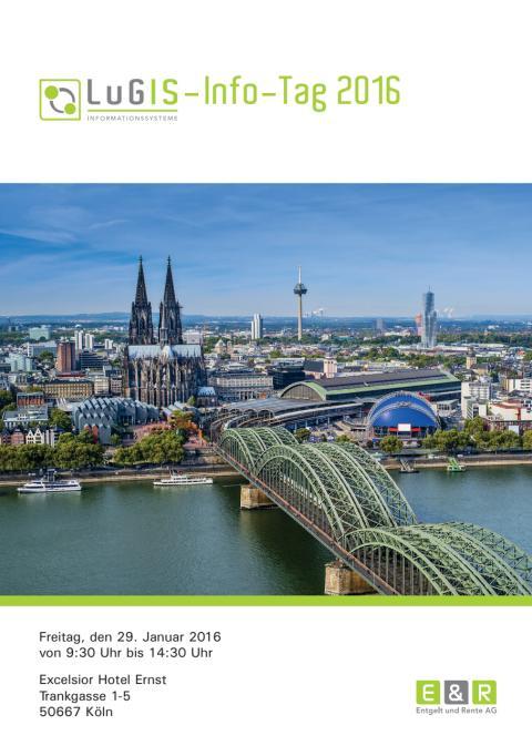 Gewohnt informativ: LuGIS-Infotag 2016