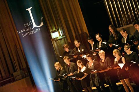 Orgel Acusticum vid Luleå tekniska universitet