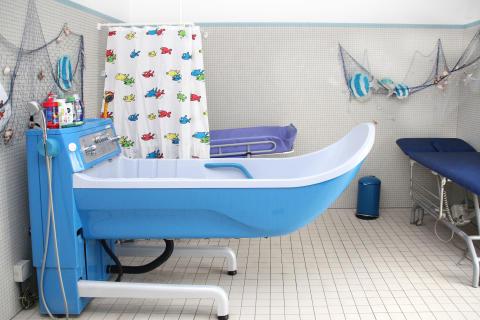 Kindgerechtes Pflegebad