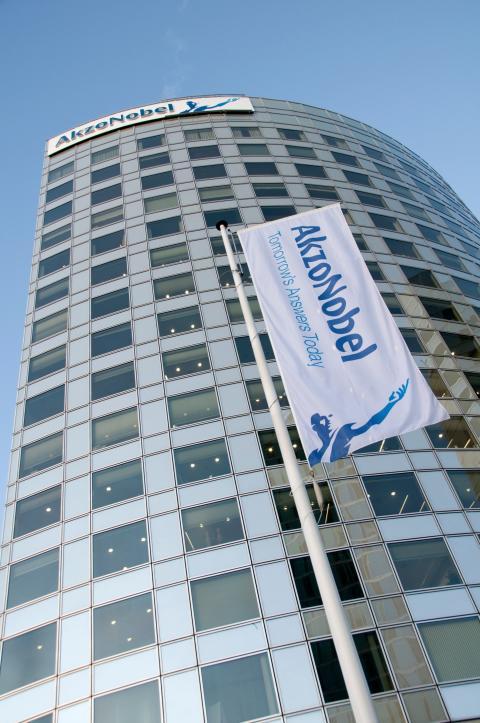 AkzoNobels huvudkontor i Amsterdam