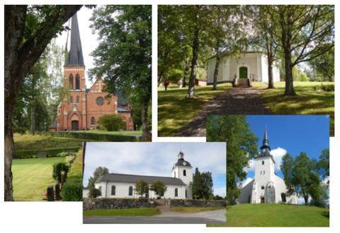 Sommarkonserter i Linde bergslags församlings kyrkor 2019