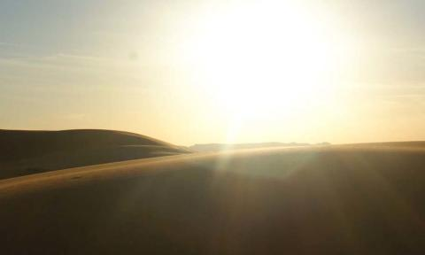 Sahara Desert Sunset_Source NOSADE