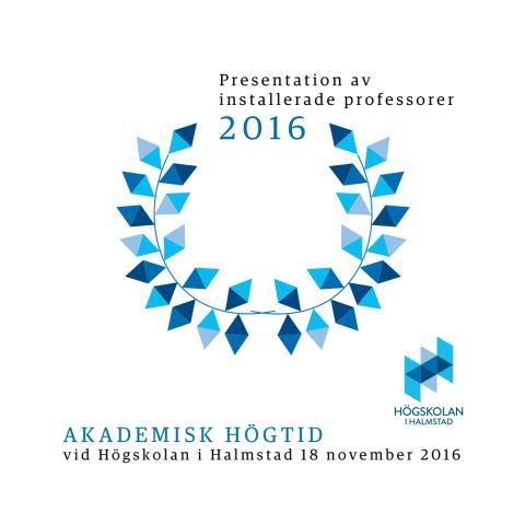 Presentation av installerade professorer 2016