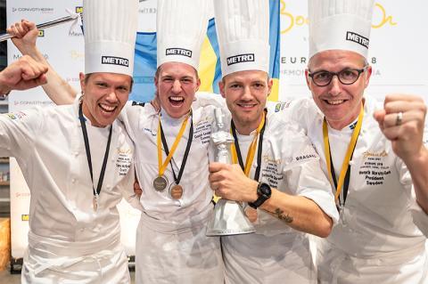 Silver till Sverige i kock-EM
