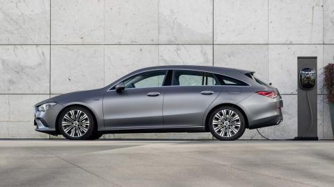 Mercedes-Benz CLA Shooting Brake som laddhybrid