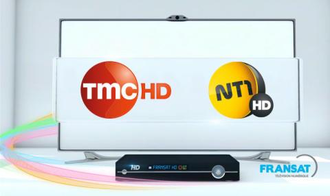 TMC et NT1 choisissent le bouquet FRANSAT pour passer à la haute définition