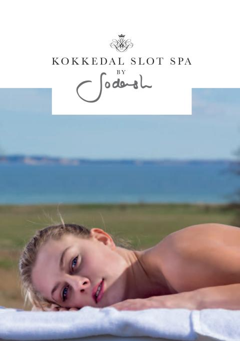 Brochure Kokkedal Slot Spa by Sodashi