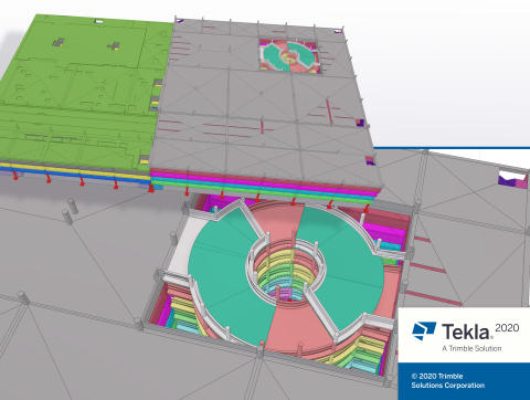 Tekla Structures 2020 Sloping slabs