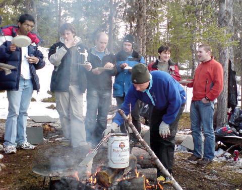 Nya SpaceMaster studenter till Kiruna