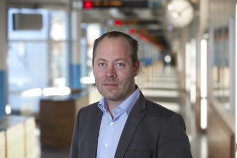 Johan Wahn, affärschef anropsstyrd trafik