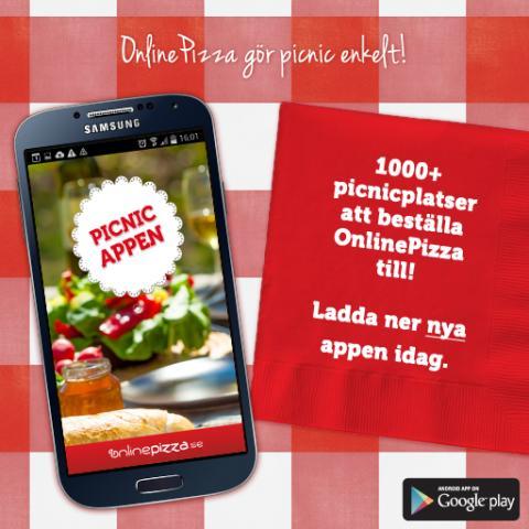 Ny picnic-app lanseras i Kalmar