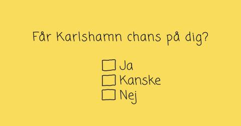 Nu ska Karlshamn locka hem de som flyttat ut