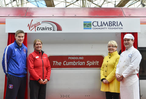 Virgin Trains celebrates 'Cumbrian Spirit' in the wake of the floods