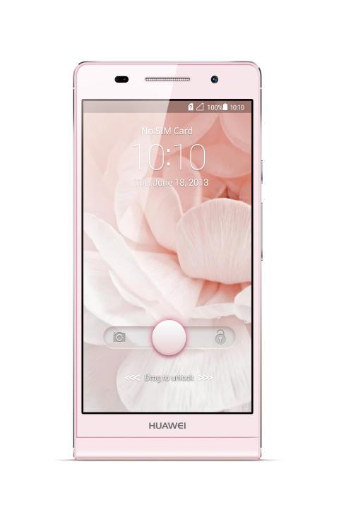 Nu finns supertunna Huawei Ascend P6 hos 3