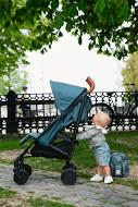 Stockholm Stroller - Pretty Petrol