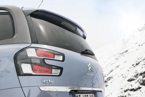 Nya Citroën Grand C4 Picasso Bakljus i 3D