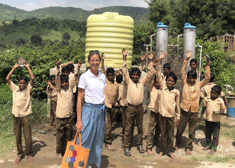 Rent vatten för alla skolbarn!