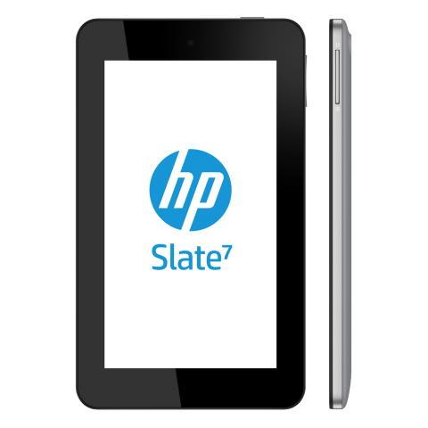 HP Slate logo med hp slate i profil