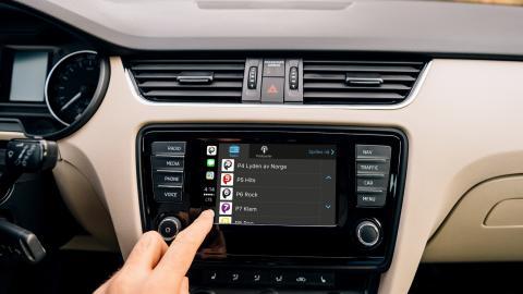 P4-gruppens kanaler først på Apple CarPlay i Norge