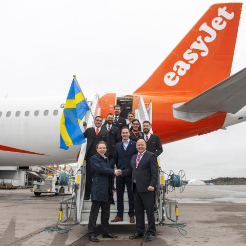 easyJet inviger två nya linjer på Arlanda