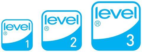 Die drei LEVEL Siegel für Nachaltigkeitsstandards