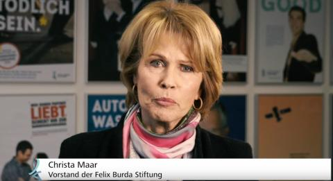 """Mutter des verstorbenen Felix Burda: """"Bewerben Sie sich jetzt!"""""""