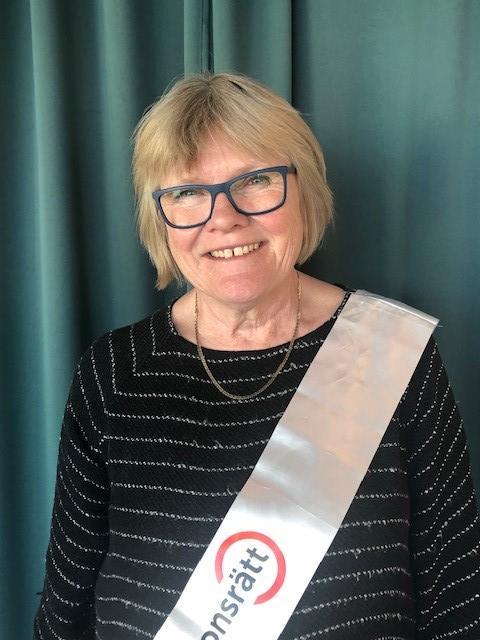 Elisabeth Wallenius omvald som ordförande för Funktionsrätt Sverige