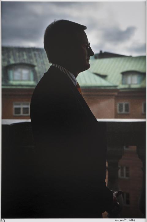 New portrait of Carl Bildt featured in Gripsholm Castle exhibition