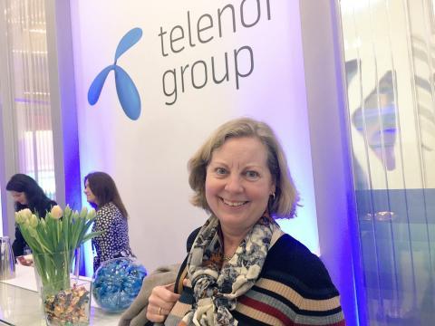 Berit Svendsen i Barcelona