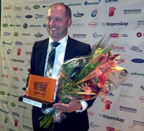 Carl Schartau ICA Vanadis fick Livsmedelshandlarnas Hederspris