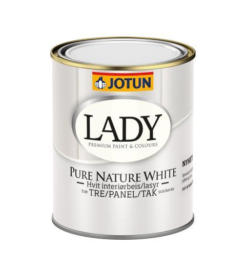 LADY Pure Nature White 0.75 ltr PNG hvit bakgrunn høyoppløslig