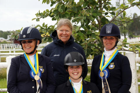 Swedish Para-Dressage Riders for Longines FEI European Championhips
