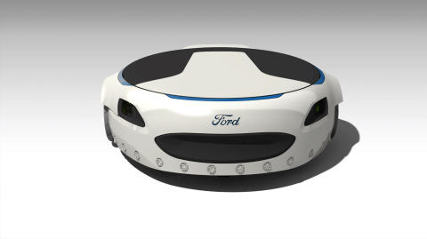 Smart hoverboard resultat av innovationstävling för Fordanställda