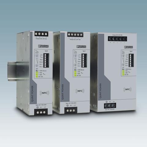 Parametriserbar strømforsyning for optimal anleggstilgjengelighet