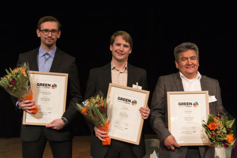 Pristagarna i Green Innovation Contest 2014 utsedda