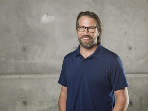 Peter Forsberg är ambassadör för Drömfonden och med i juryn. Fotograf: Ryno Quantz