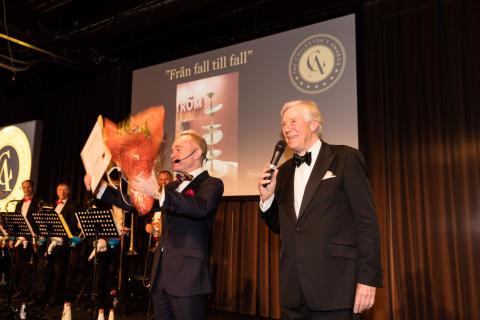 Peder Lamm och Winston Håkansson på The Collector's Awards 2017