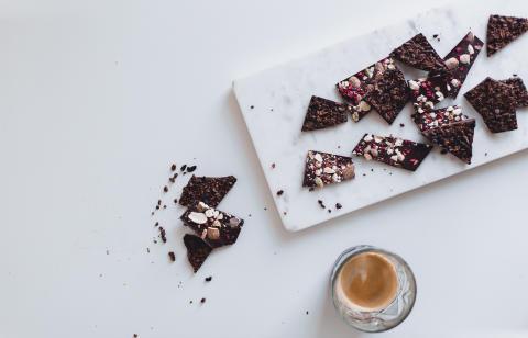 Råsjokolade