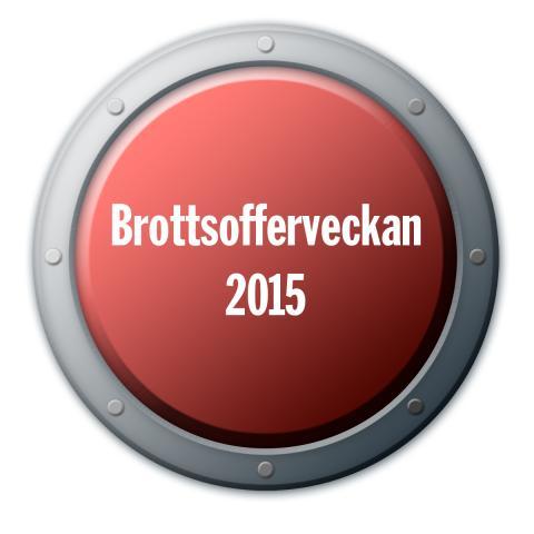 Inbjudan till Nationella Brottsofferveckan 2015