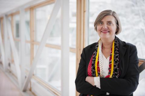 Astrid Söderbergh Widding tillträder som rektor
